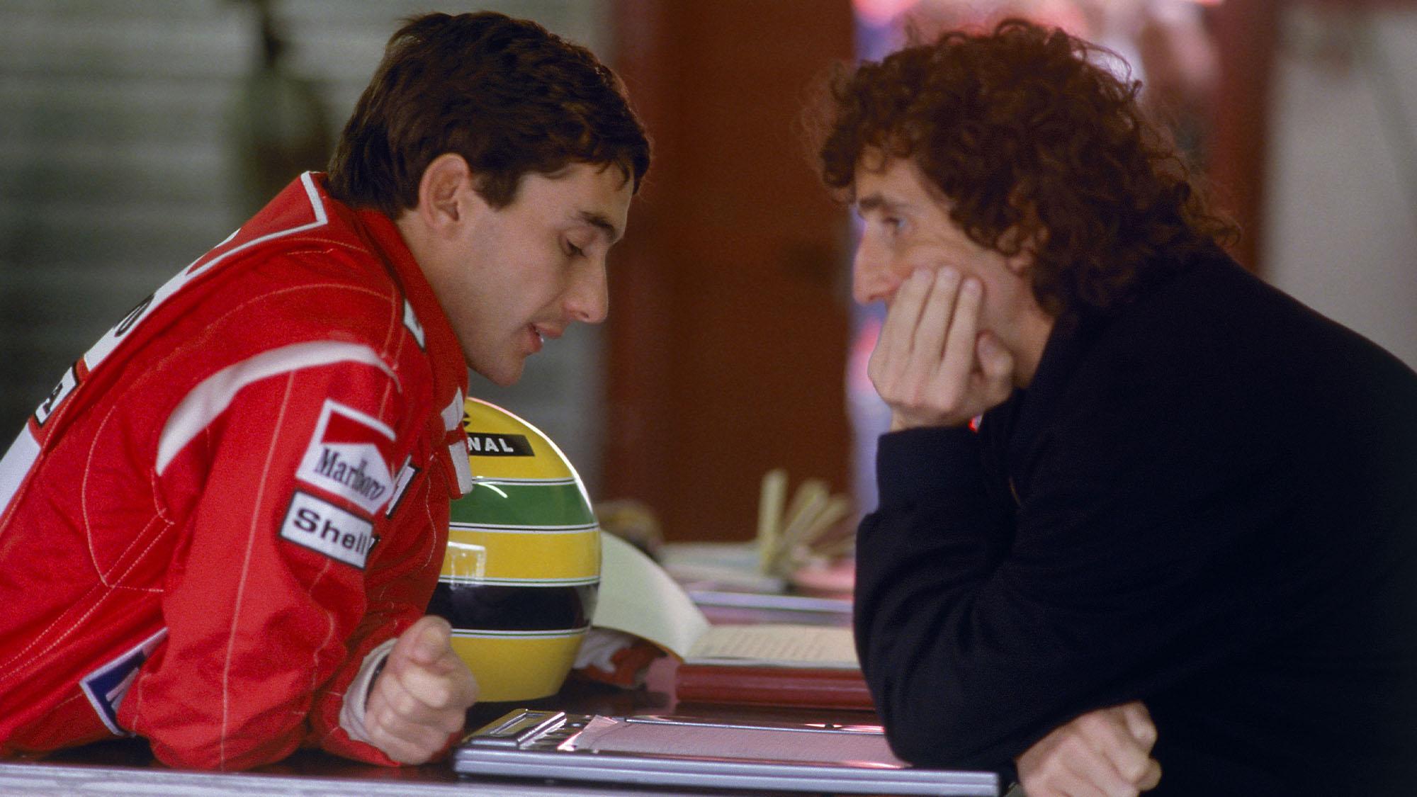 Senna Prost 88 talking
