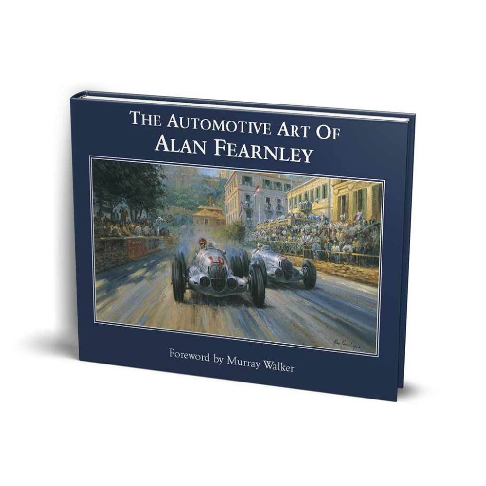 Product image for The Automotive Art of Alan Fearnley | Alan Fearnley | Hardback