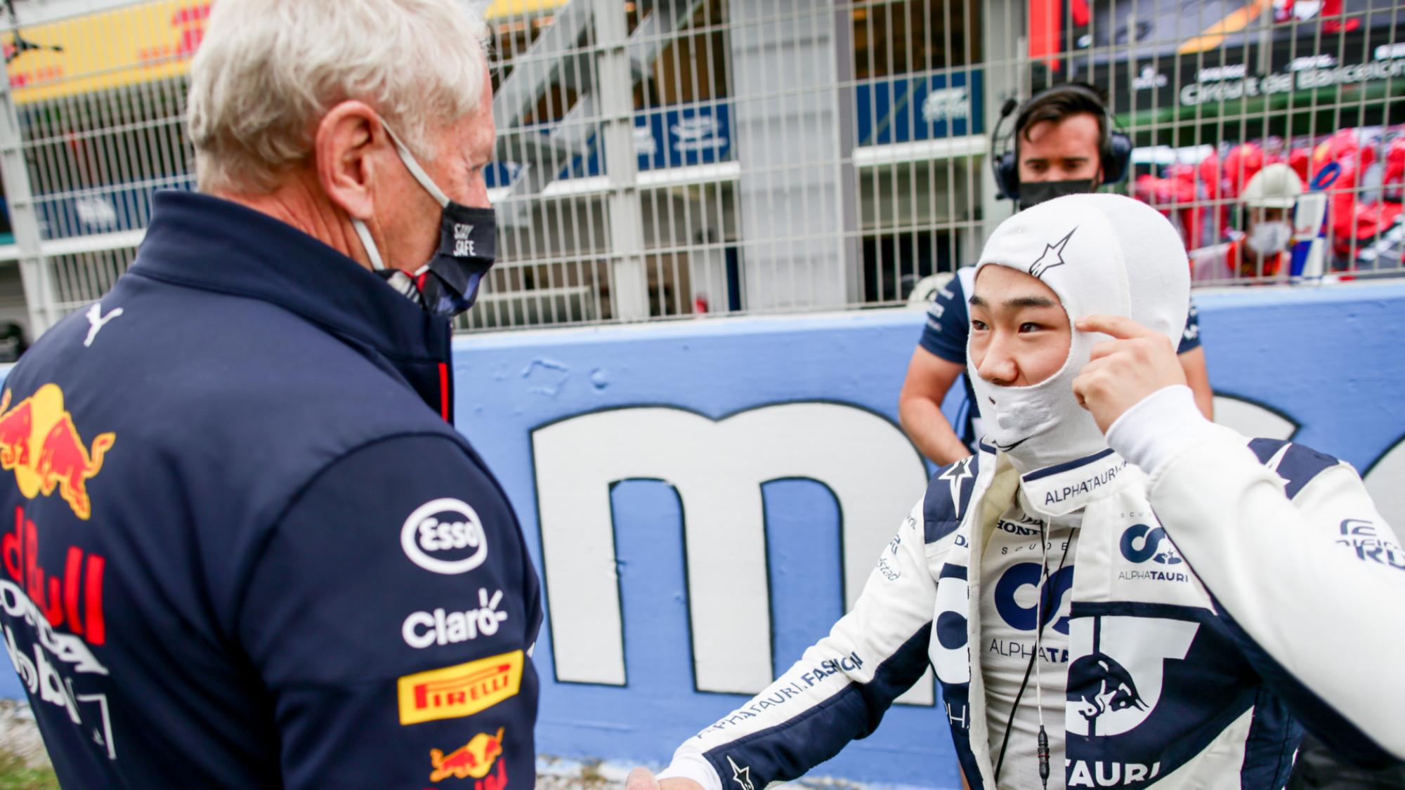 Yuki Tsunoda, 2021 Spanish GP