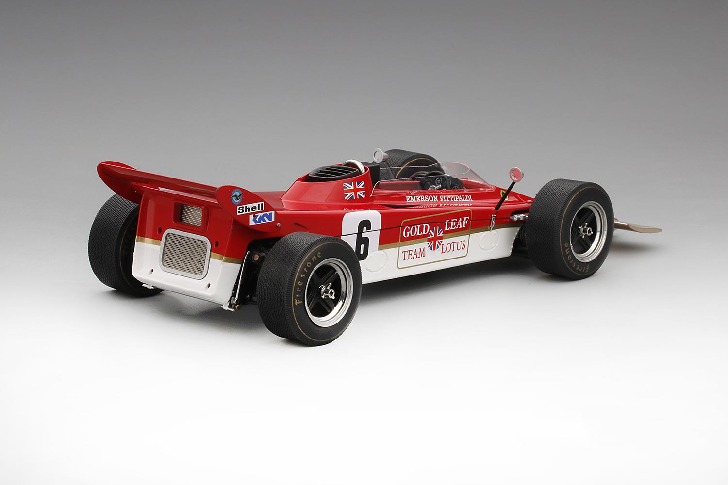 Product image for 1971 Lotus 56B | No.6 Race of Champions | Team Lotus | E.Fittipaldi | 1/18