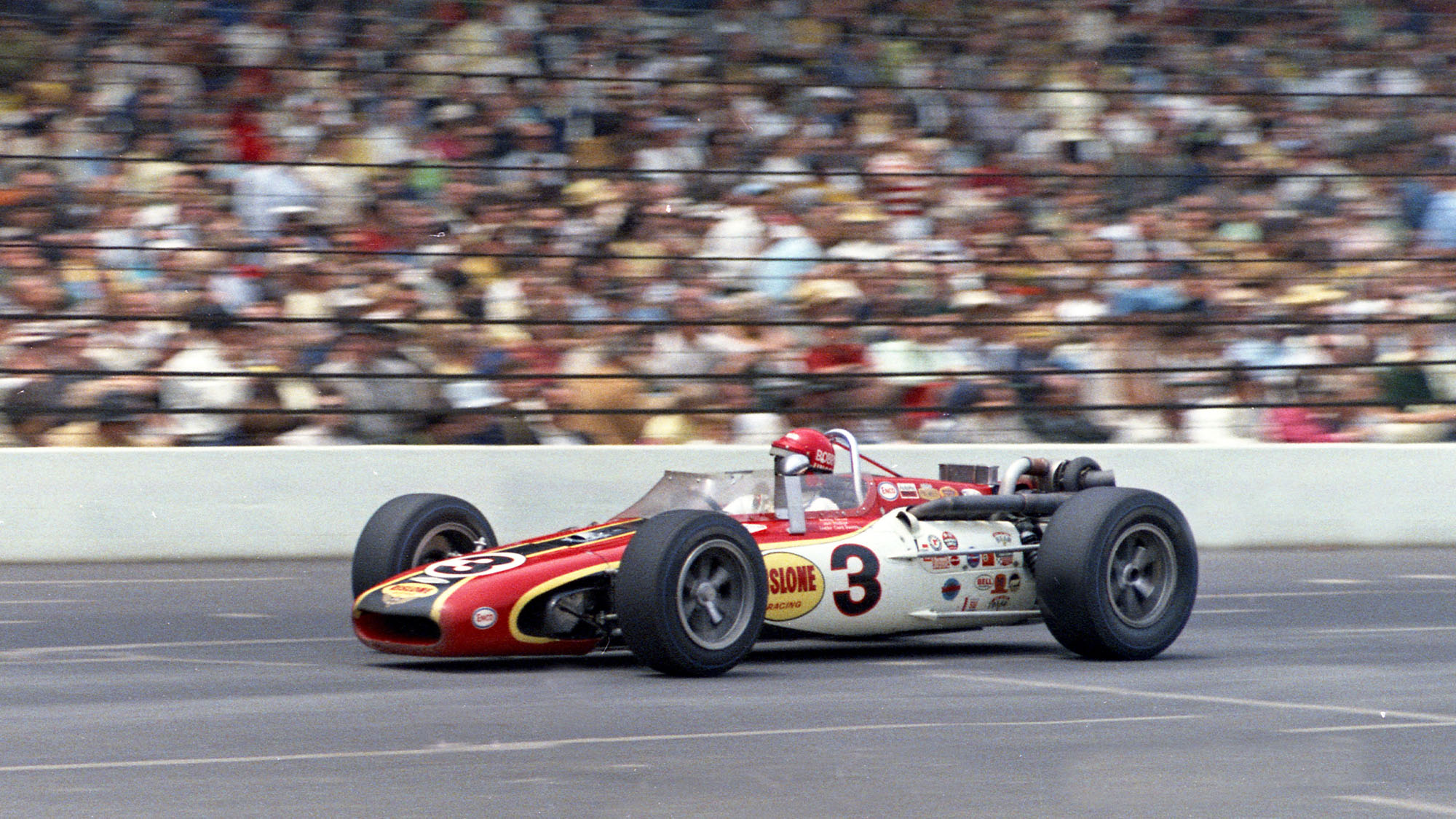 Bobby Unser 68 Indy win