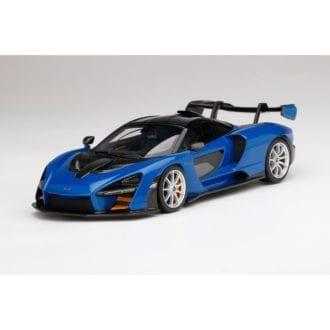 Product image for McLaren Senna   Antares Blue   1/18