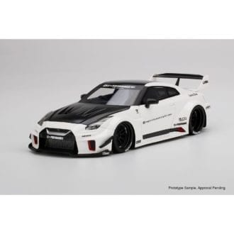 Product image for LB-Silhouette Works Nissan GT-R 35GT-RR   White   1/18