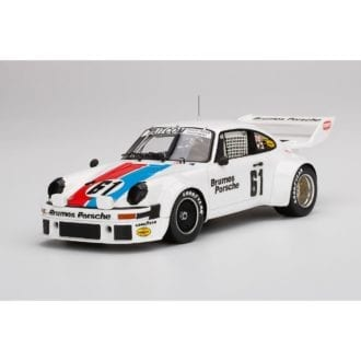 Product image for Porsche 934/5 NO.61   1977 Sebring 12.Hrs. 3rd Place   Brumos Racing   1/18