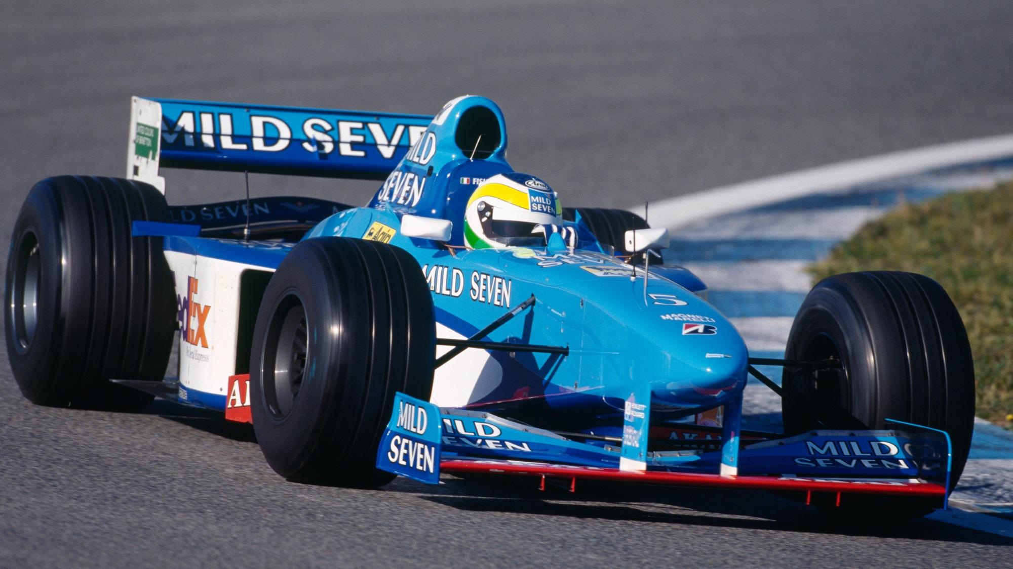 Giancarlo Fisichella, 1998 Benetton