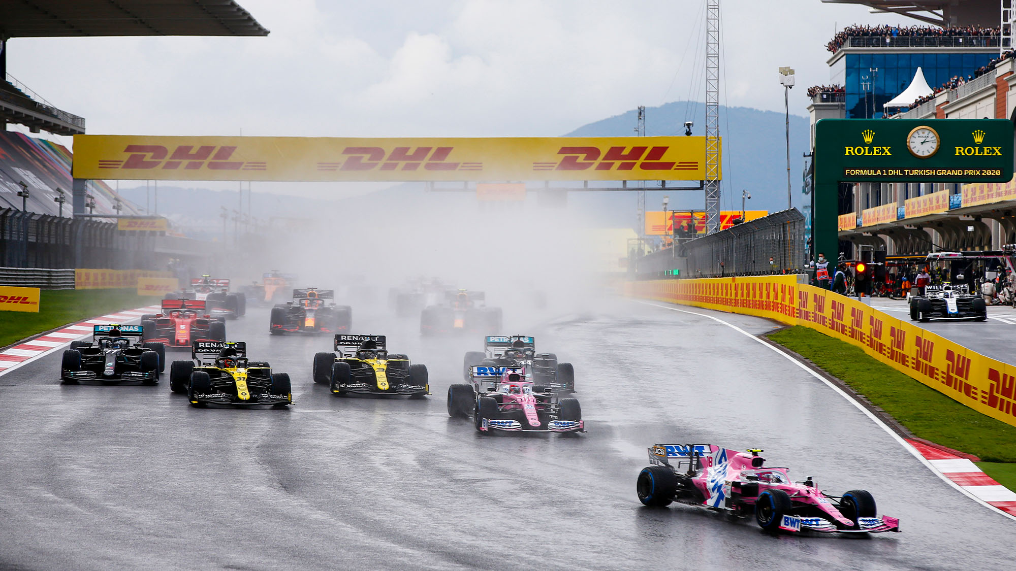 F1 calendar revamped with two Austria races after Turkish GP postponement