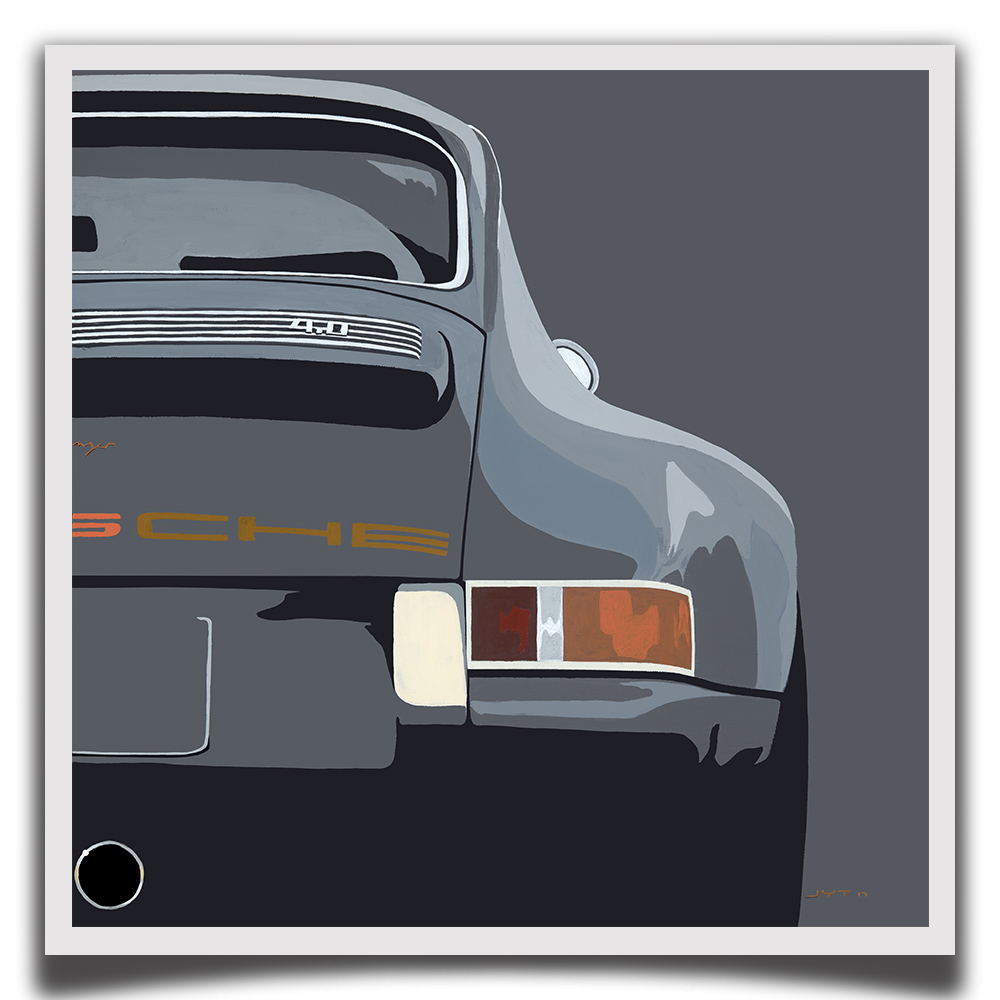 Product image for Re-reimagined Porsche 911 by Singer– 1990 | Jean-Yves Tabourot | Limited Edition print
