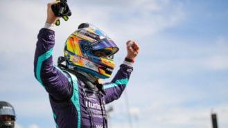 Grosjean feels 'alive again' after taking shock pole in 3rd IndyCar race