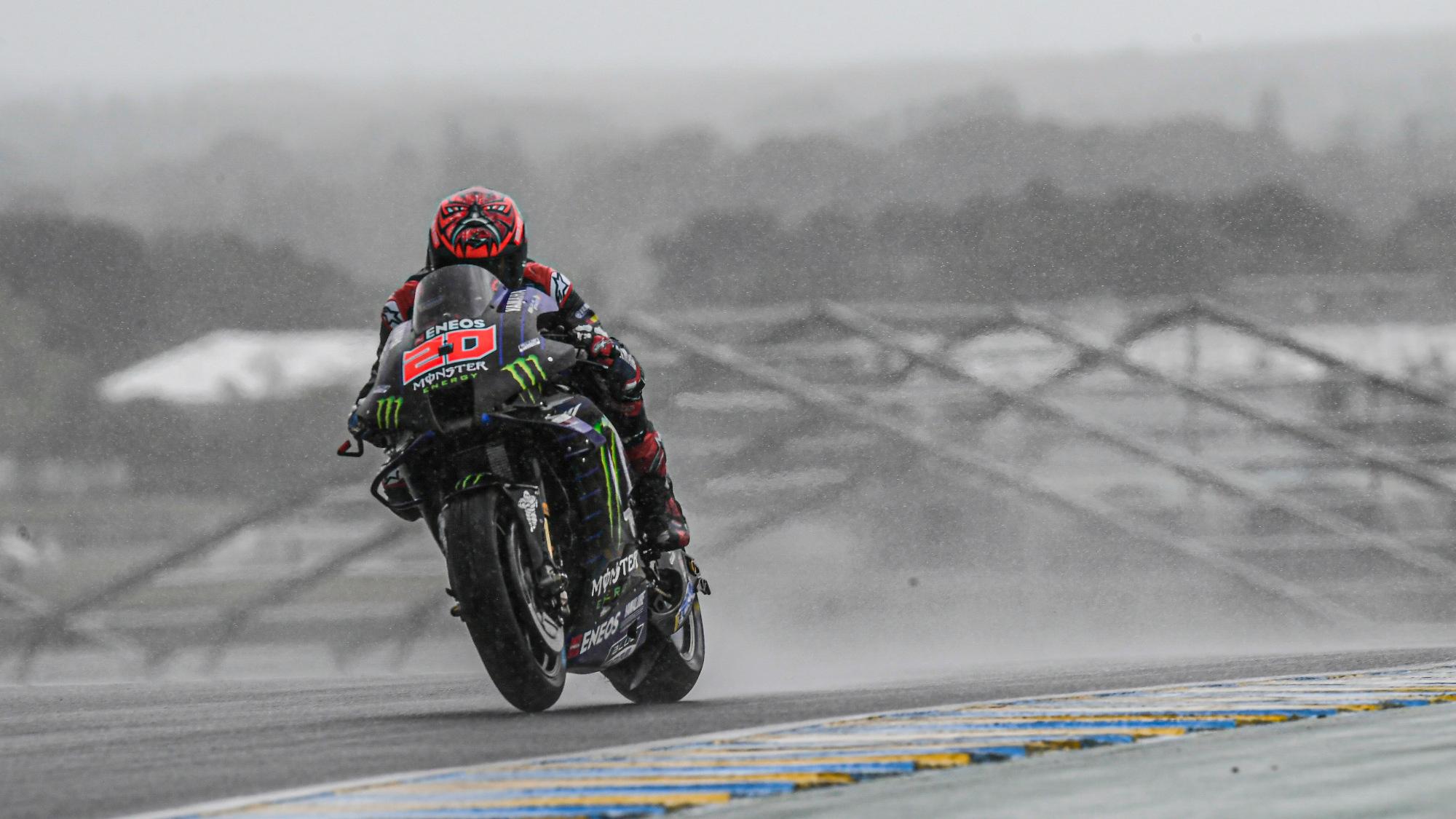 Fabio Quartararo, 2021 Le Mans MotoGP