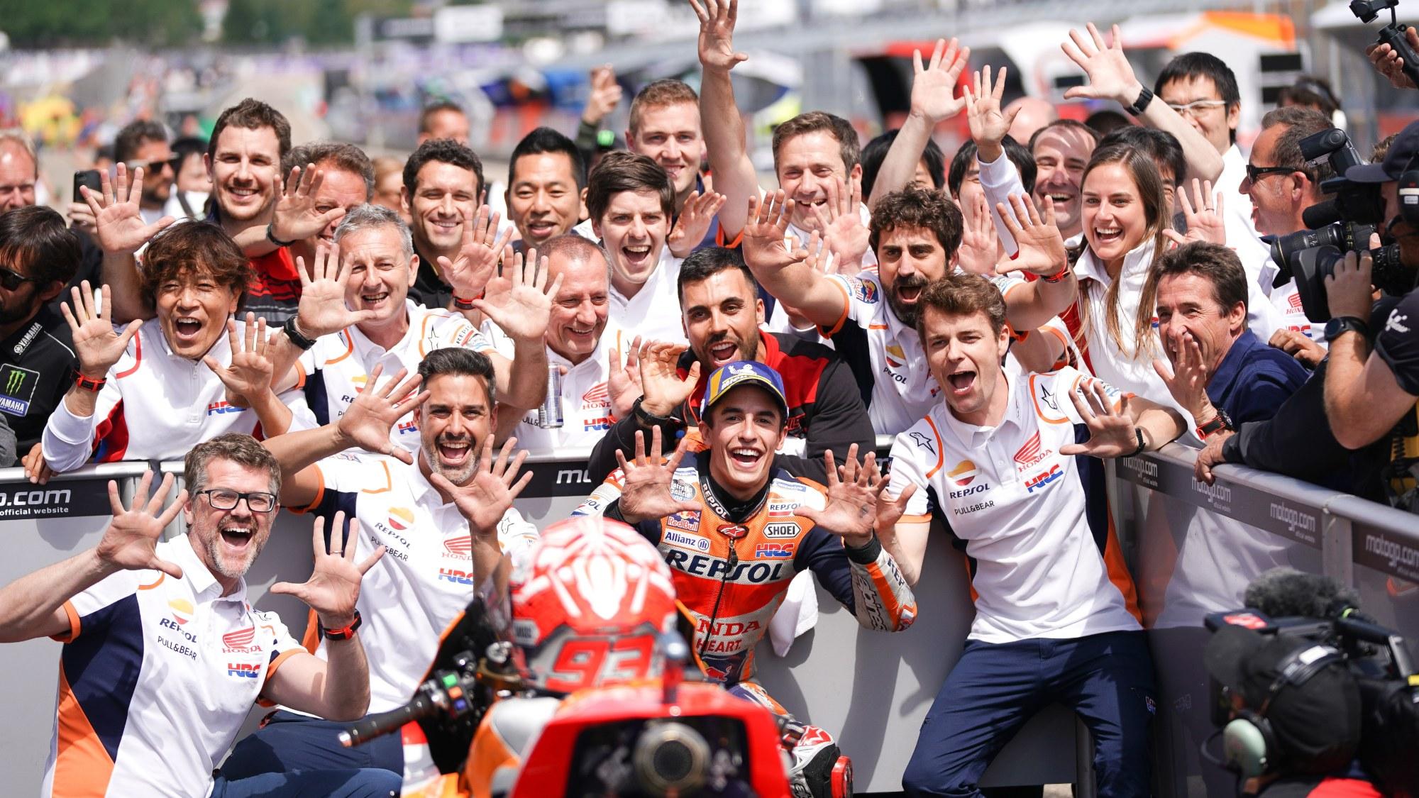 Marc Marquez, 2019 Sachsenring MotoGP