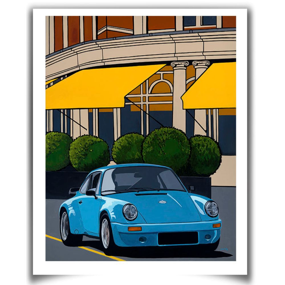 Product image for Mayfair| Porsche 911 3.0 RSR - 1974 | Jean-Yves Tabourot | Limited Edition print