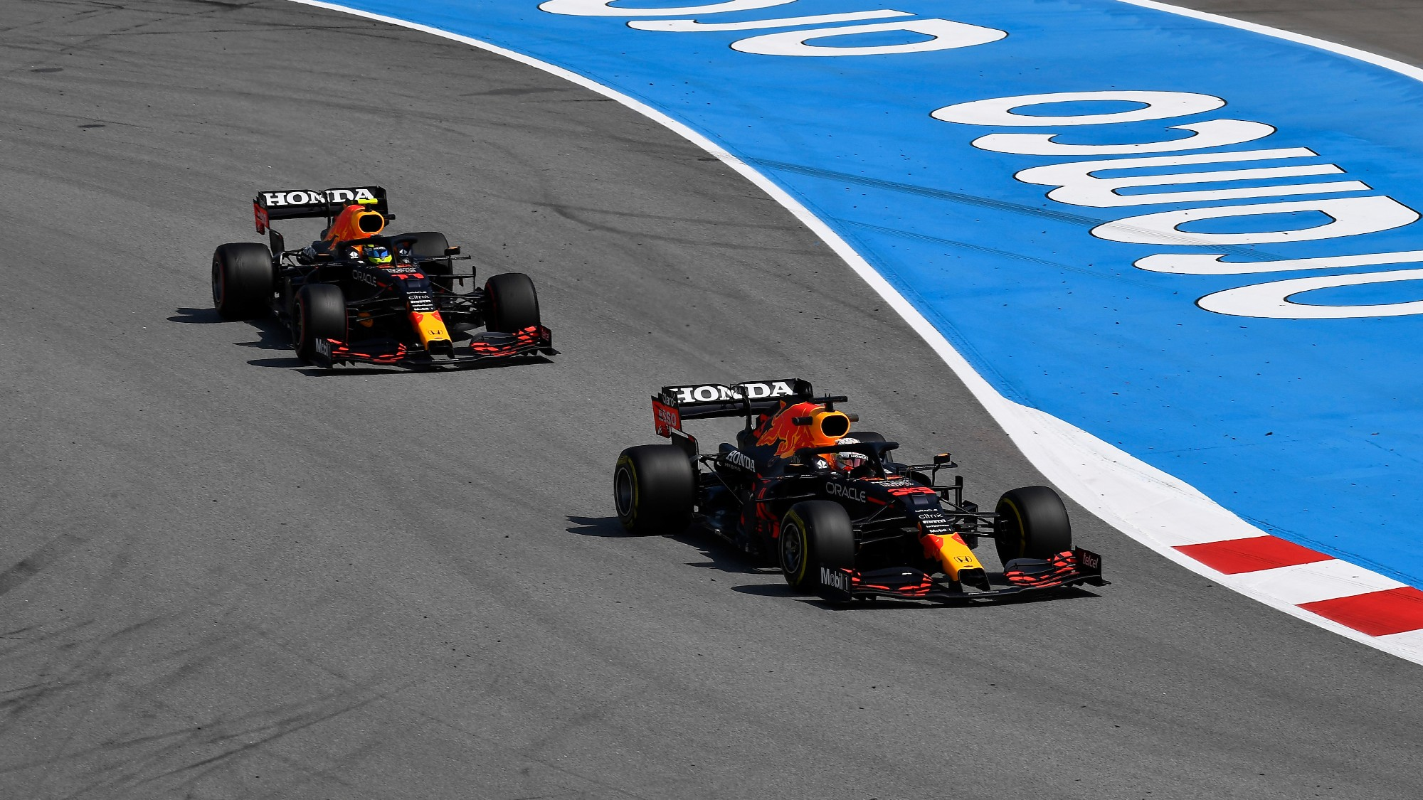 2021 Sergio Perez, Spanish GP