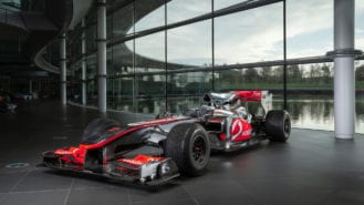Lewis Hamilton F1 race-winning McLaren for sale in auction first