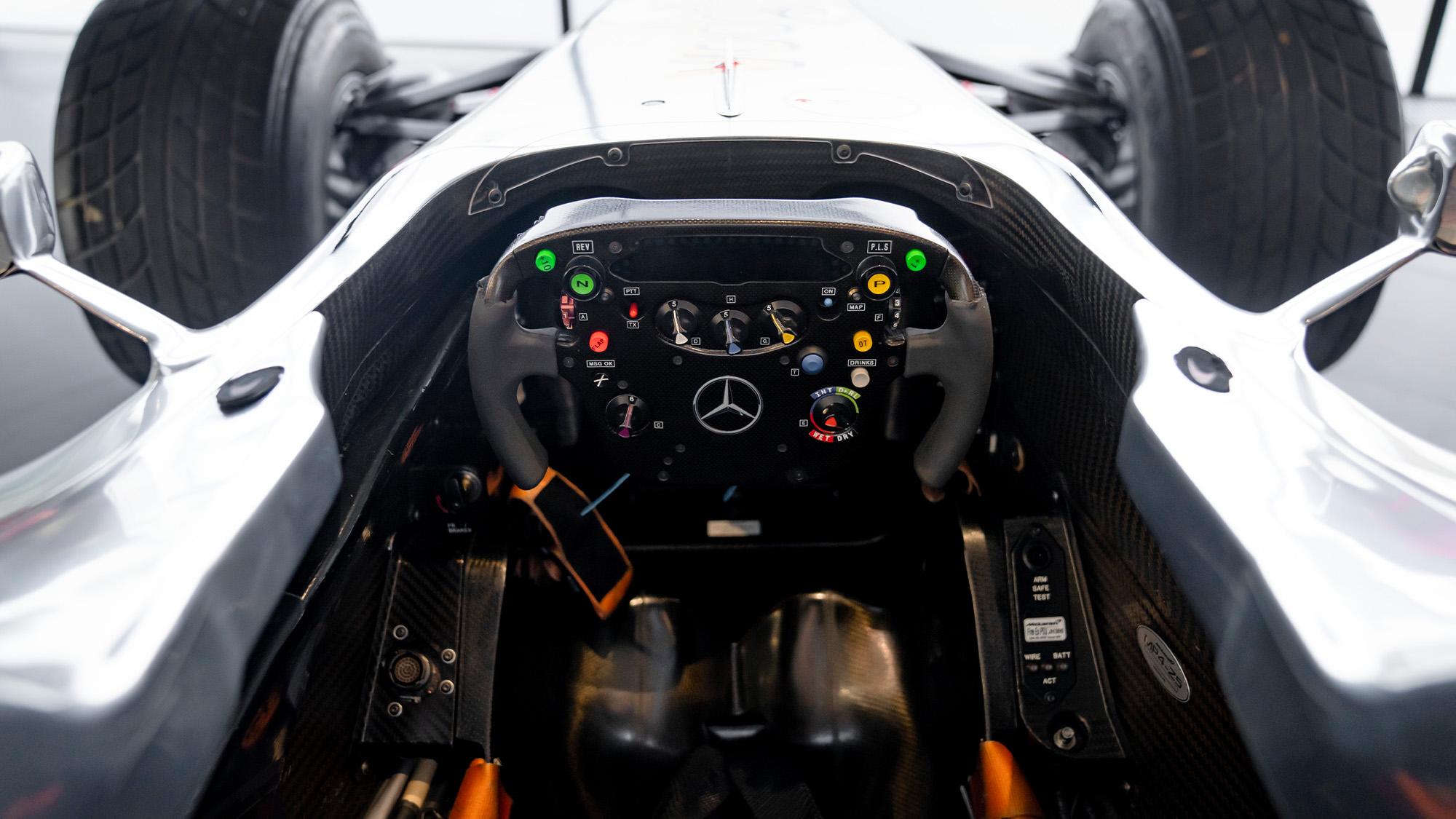 Lewis Hamilton McLaren MP4-25 for auction steering wheel