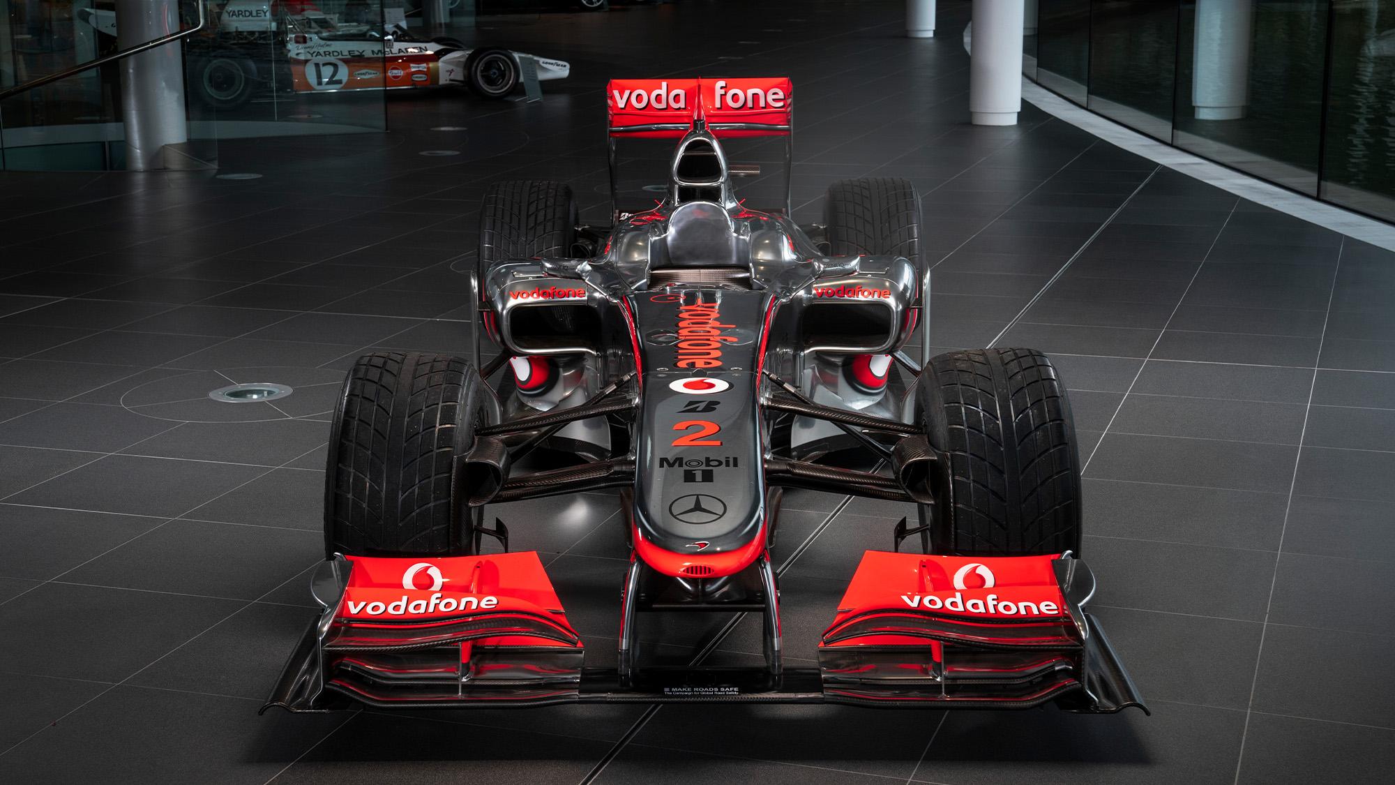 Lewis Hamilton McLaren MP4-25 for auction front view
