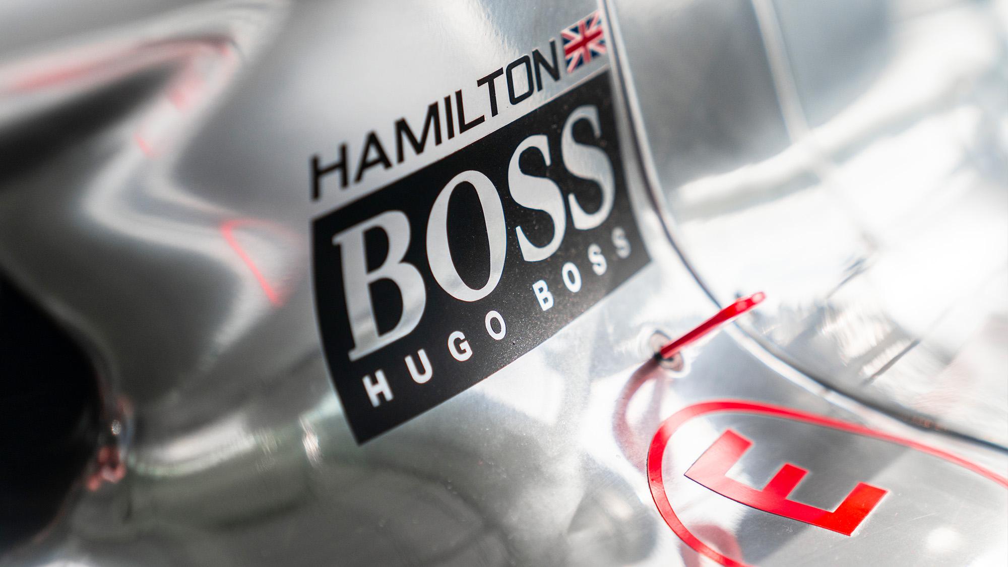 Lewis Hamilton McLaren MP4-25 for auction nameplate