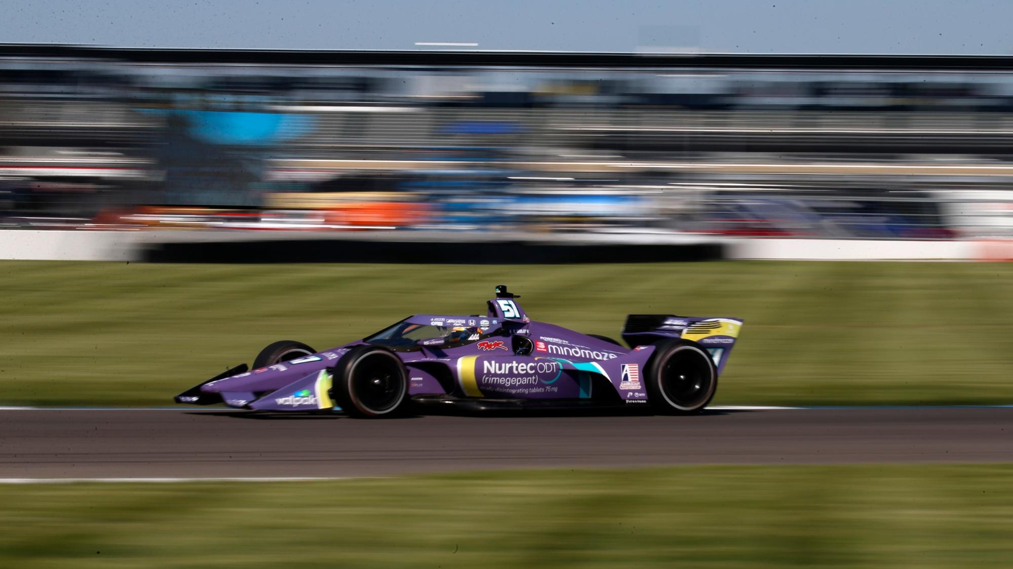 Romain Grosjean, IndyGP 2021