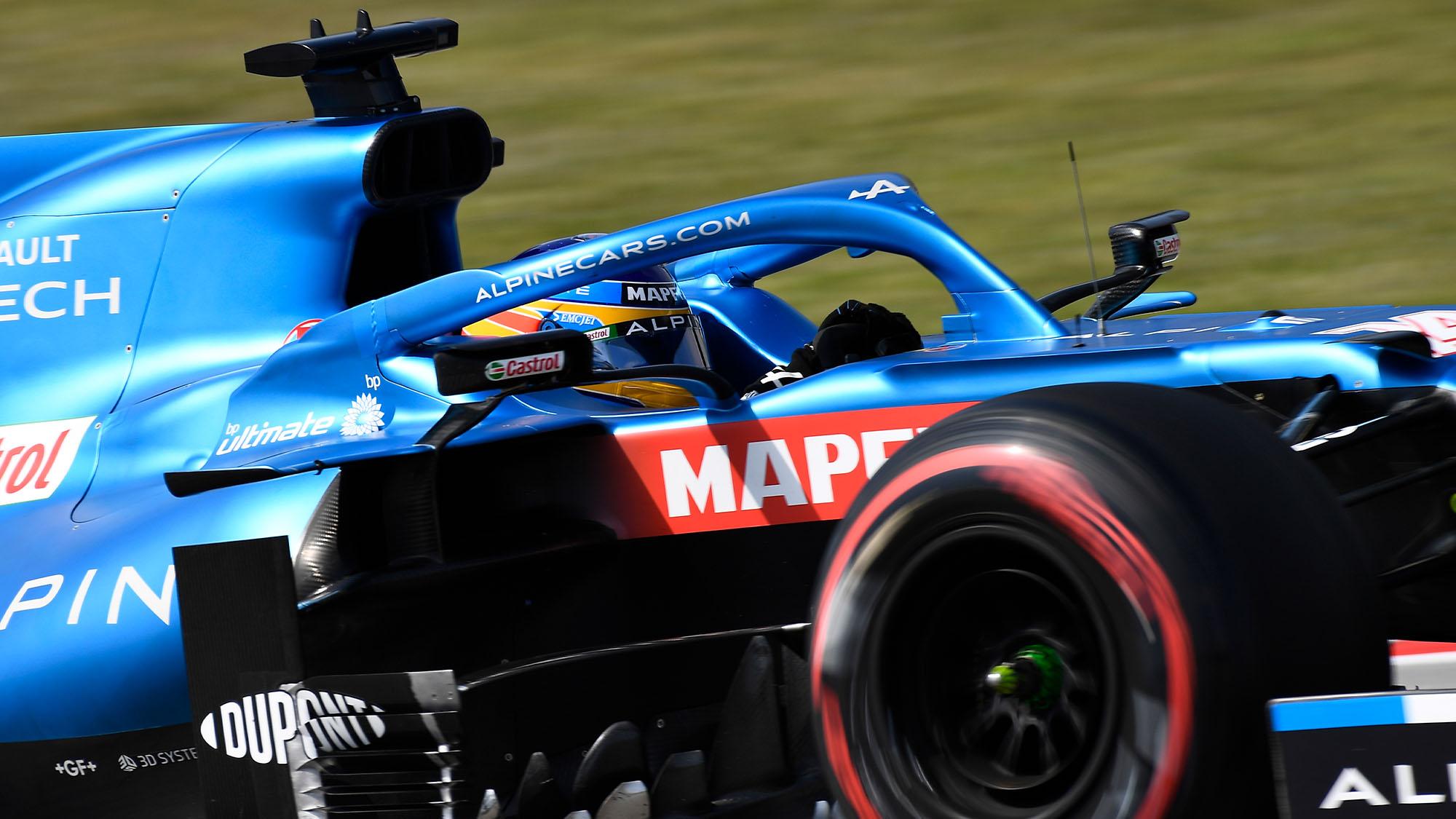 Fernando Alonso Alpine 2021