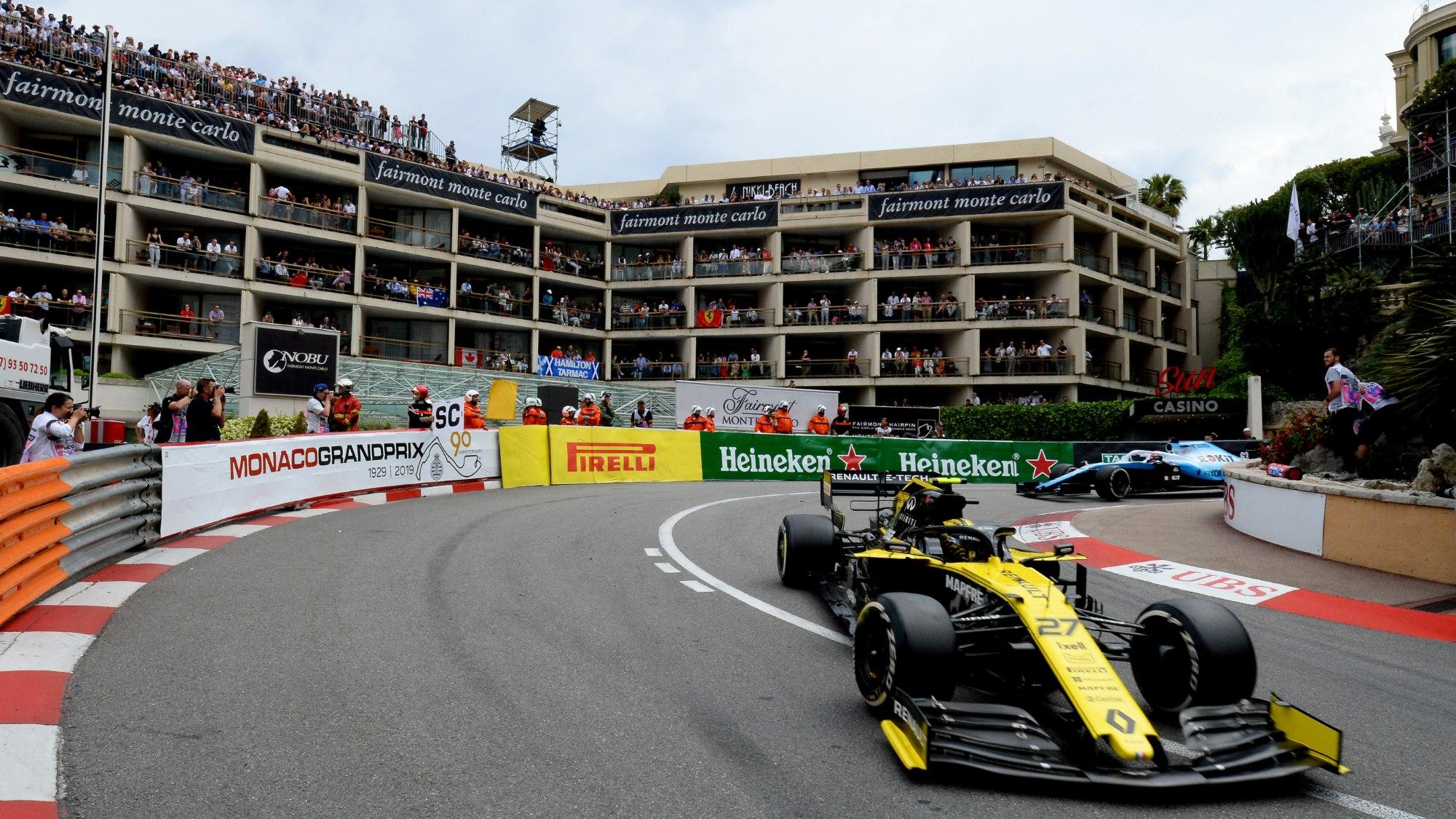 Nico Hulkenberg, 2019 Monaco GP
