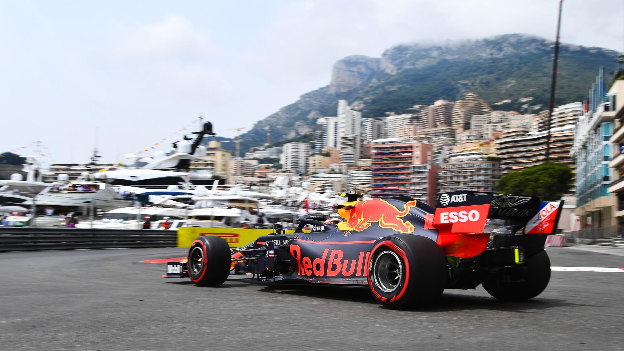 Alex Albon, 2019 Monaco GP
