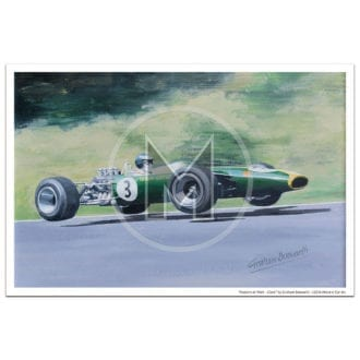 Product image for Masters at Work | Clark and Lotus 49 | Print