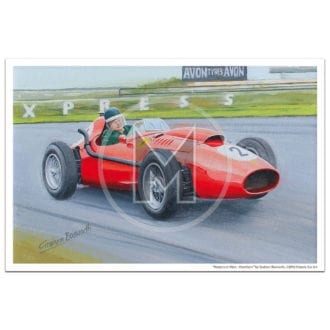 Product image for Masters at Work | Hawthorn and Ferrari 246 Dino | Print