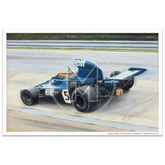 Product image for Masters at Work | Stewart and Tyrrell 006 | Print