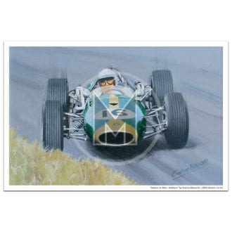 Product image for Masters at Work | Brabham and Brabham-Repco | Print