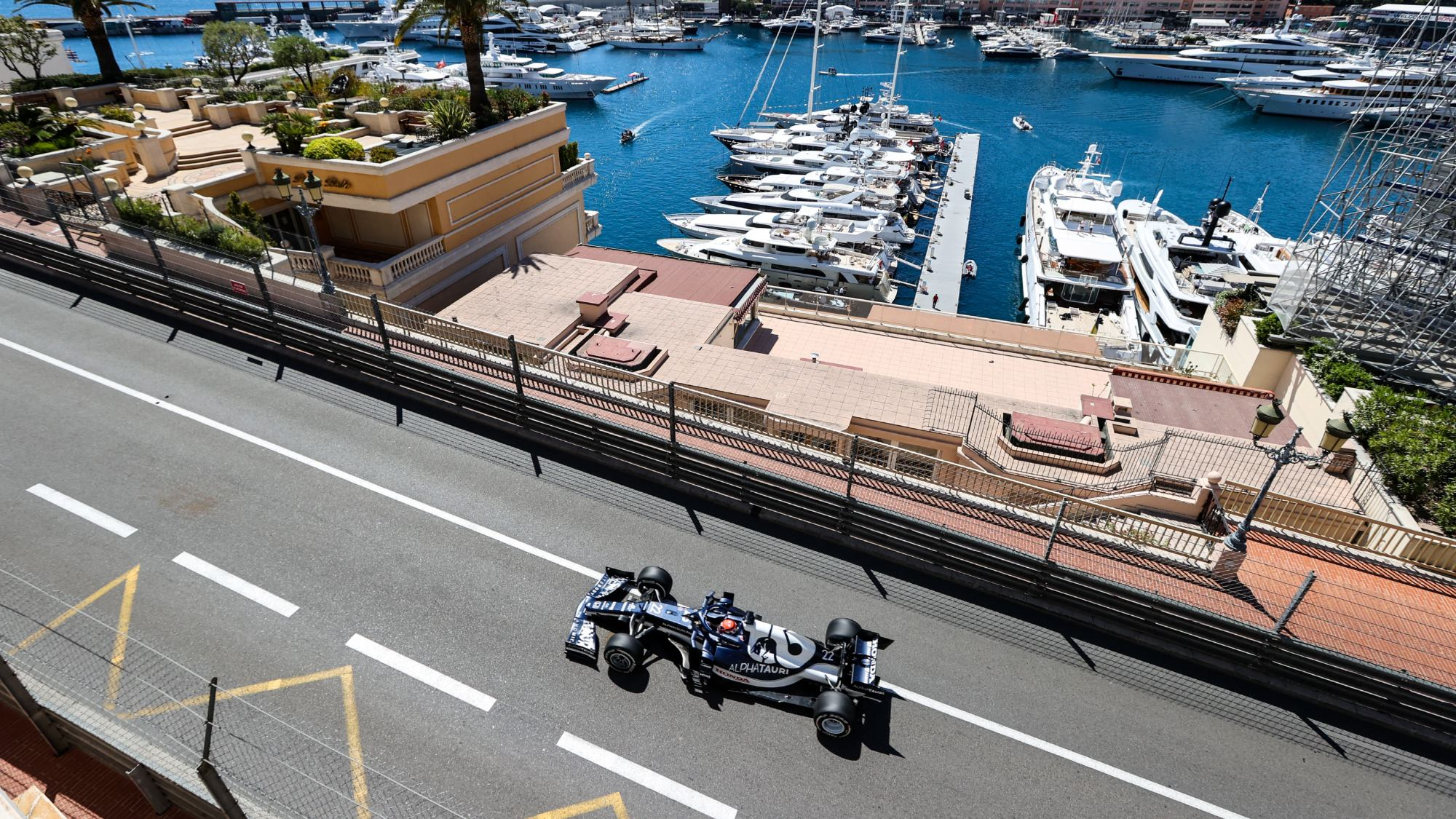 Yuki Tsunoda, GP de Mónaco 2021