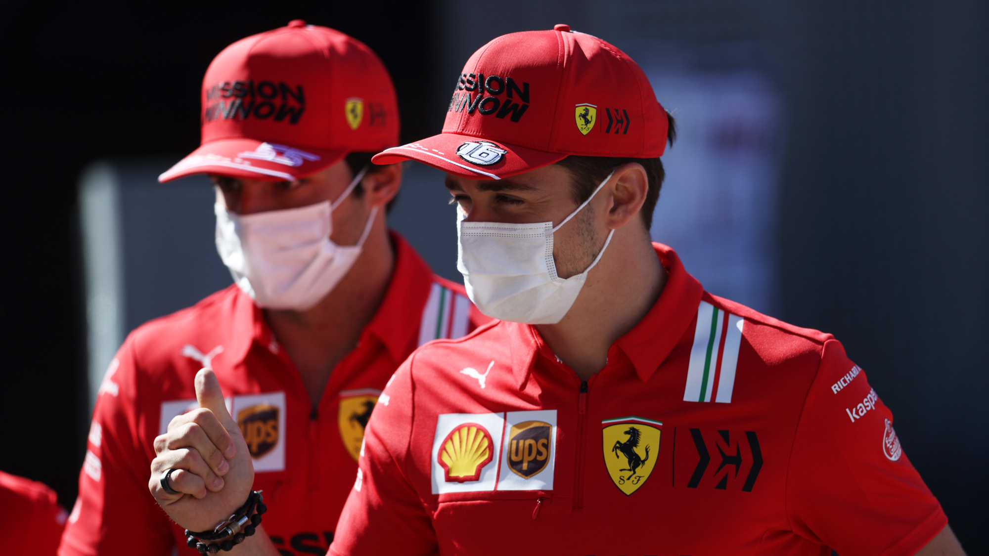 Charles Leclerc, 2021 Monaco GP