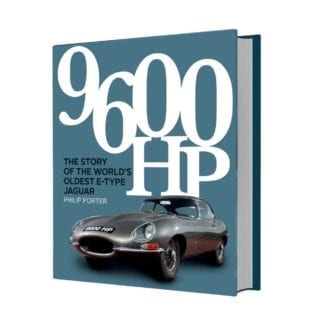 Product image for 9600 HP: The Story of the World's Oldest E-Type | Philip Porter | Hardback