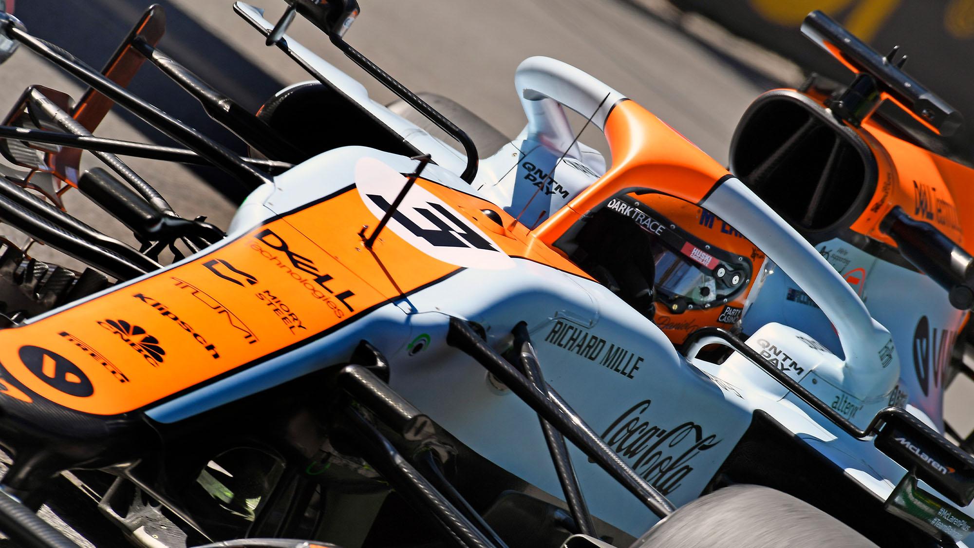 Ricciardo McLaren Mónaco 2021