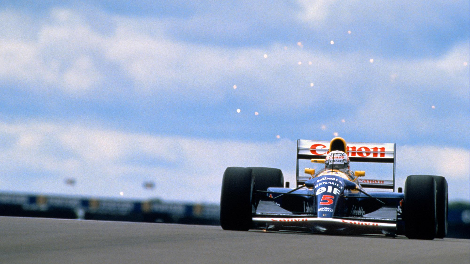 1992 Williams of Nigel Mansell