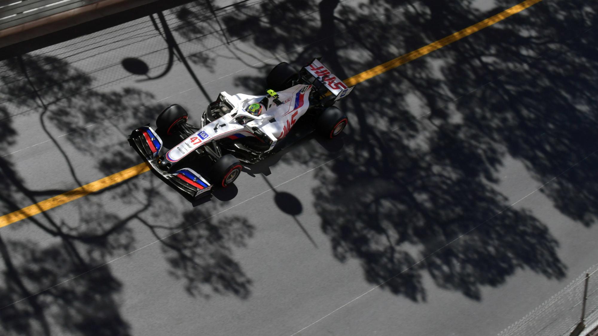 Mick Schumacher, 2021 Monaco GP