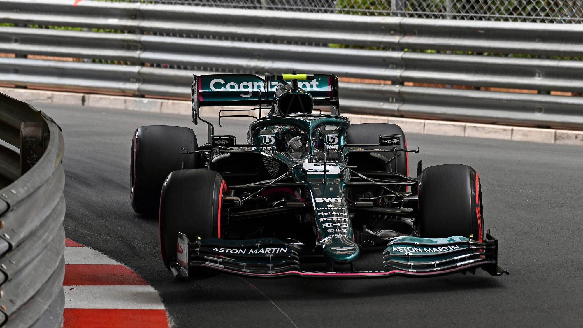 2021 Monaco GP, Sebastian Vettel