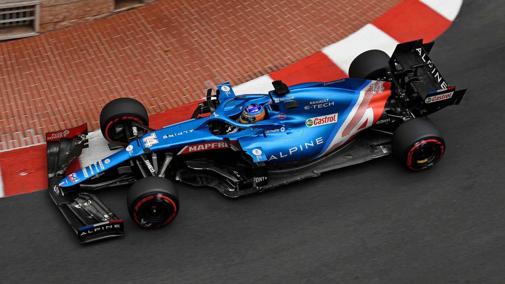 Fernando Alonso, 2021 Monaco GP