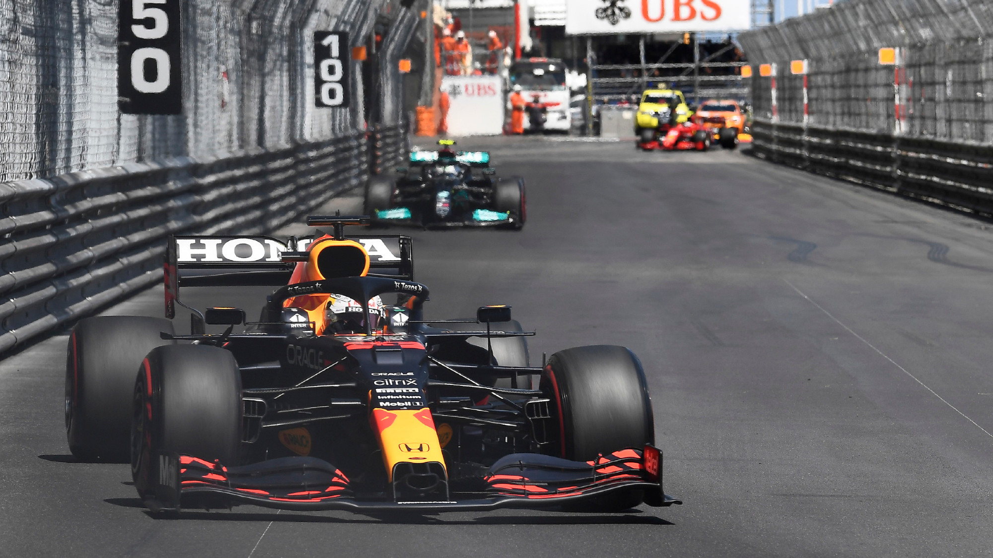 Max Verstappen, 2021 Monaco GP