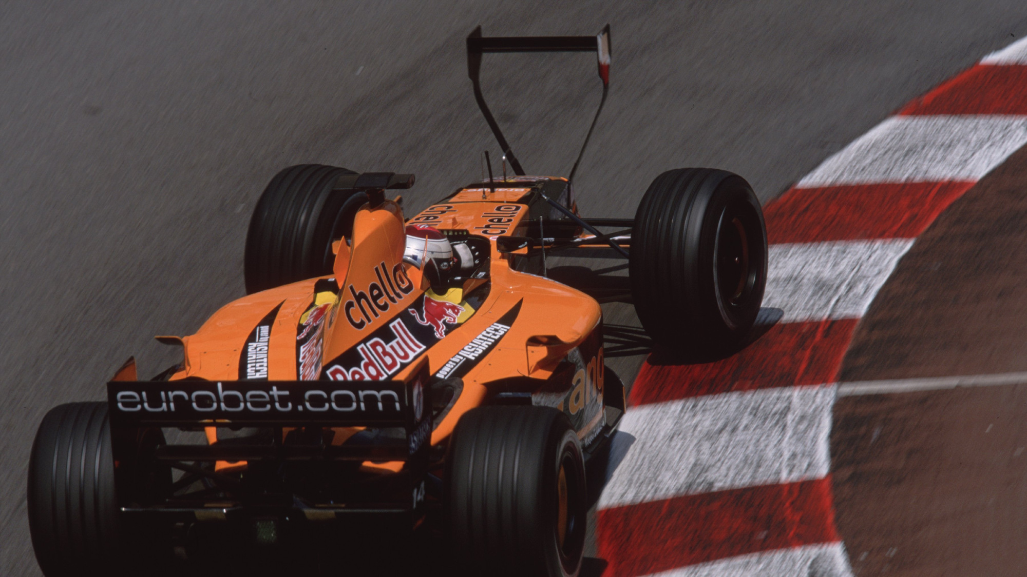 2001 Monaco GP, Jos Verstappen