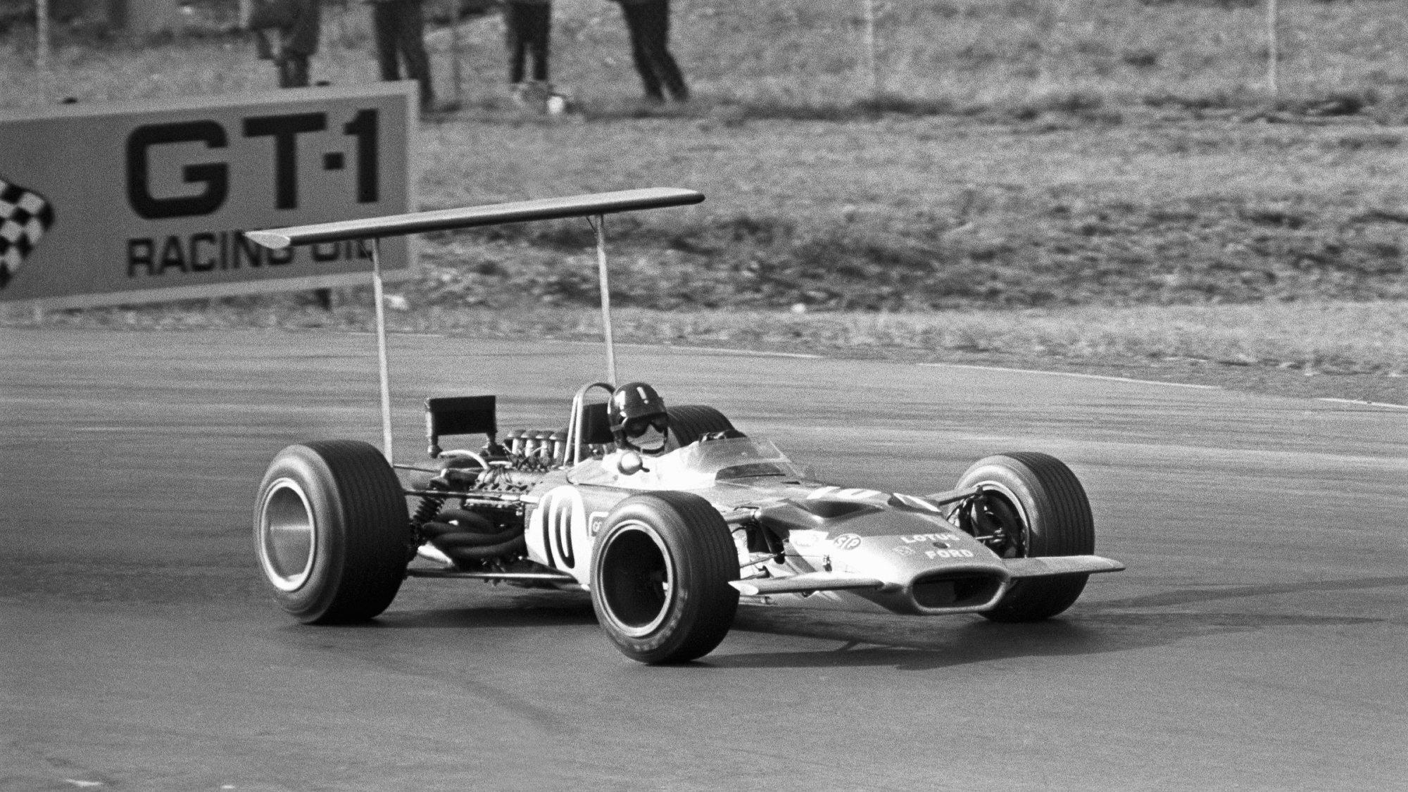 Graham Hill, 1968 USGP