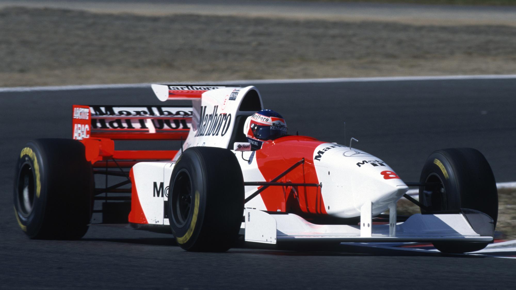 Jan Magnussen, 1995 McLaren