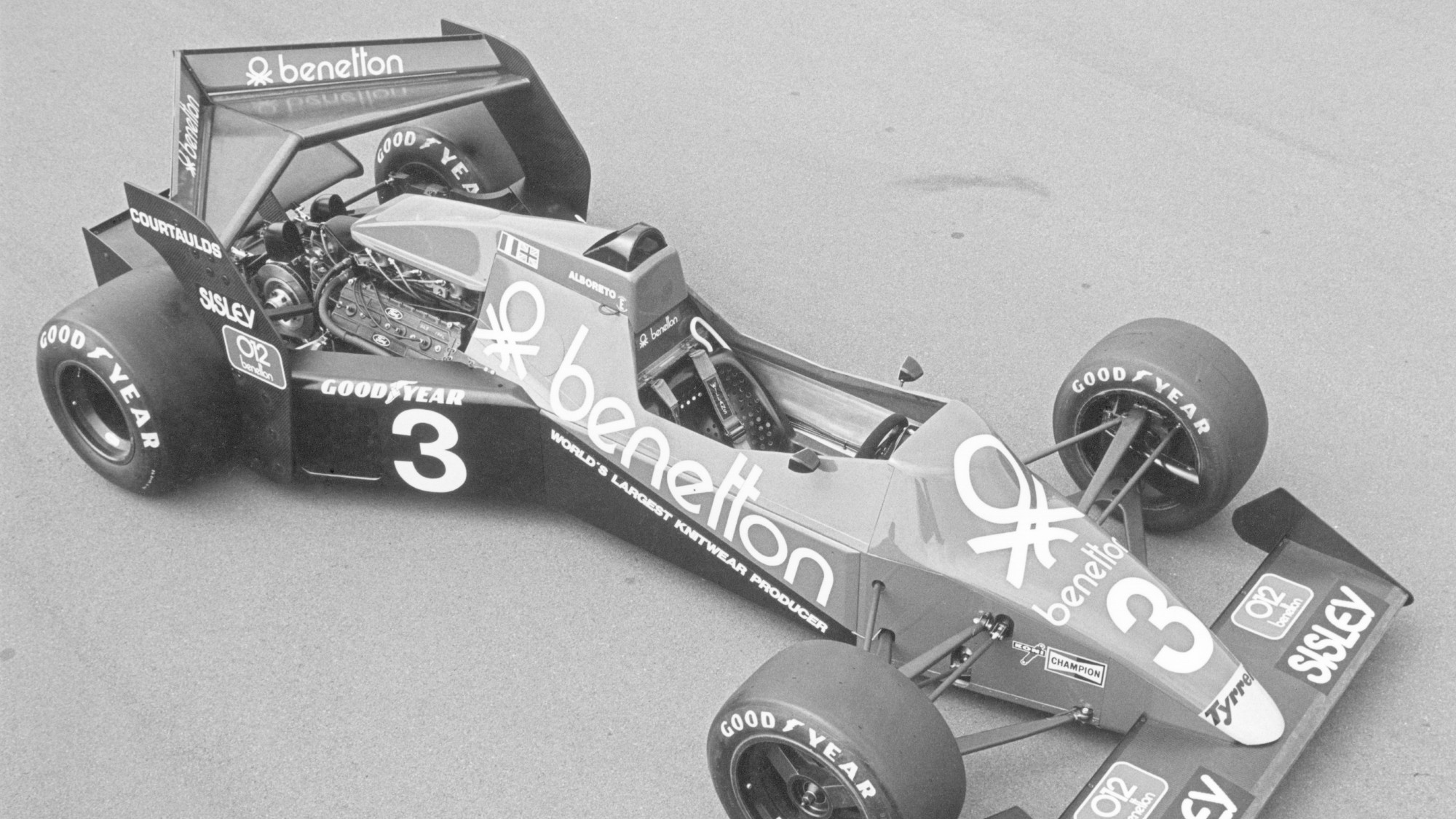Tyrrell 012, 1983