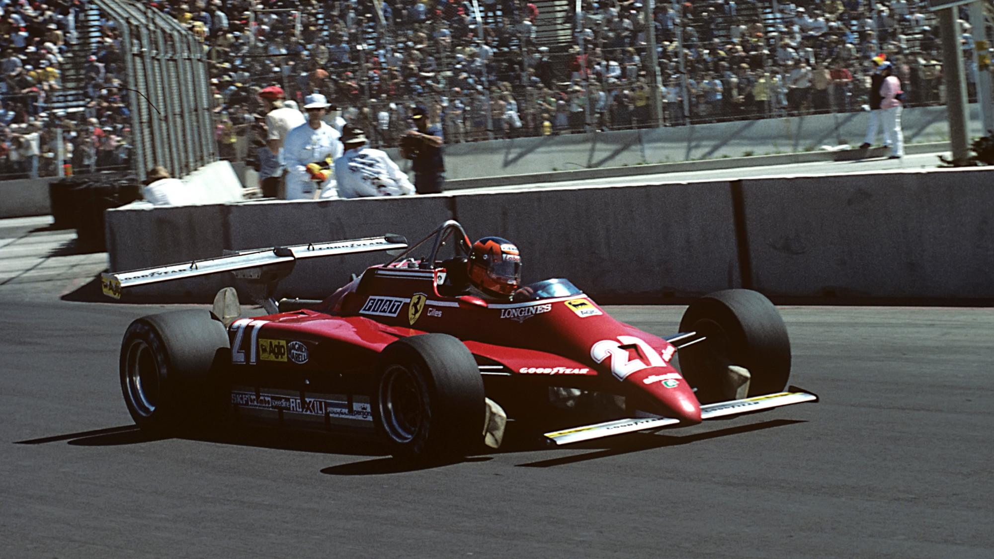 Gilles Villeneuve, 1982 USGP West