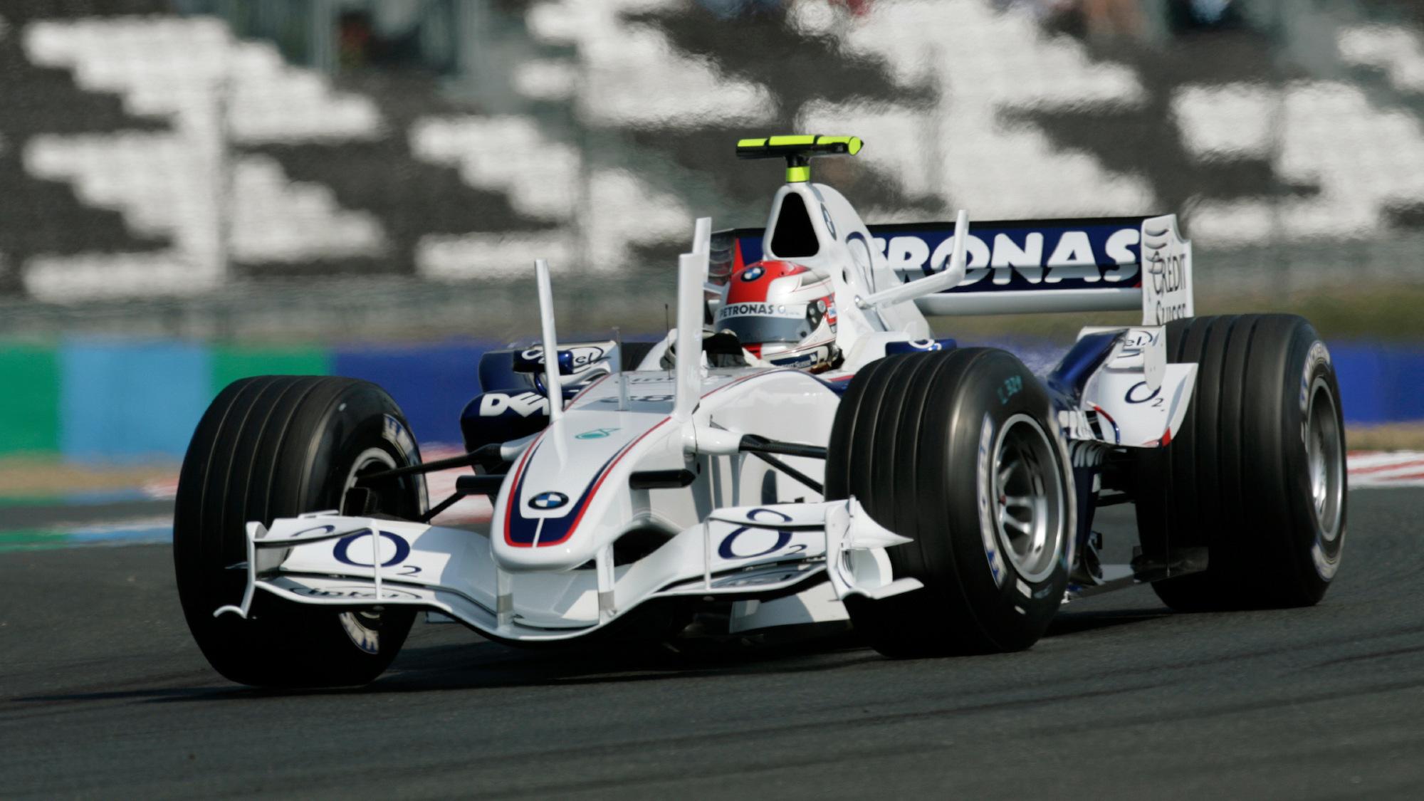 BMW Sauber 2006 French GP RObert kubica