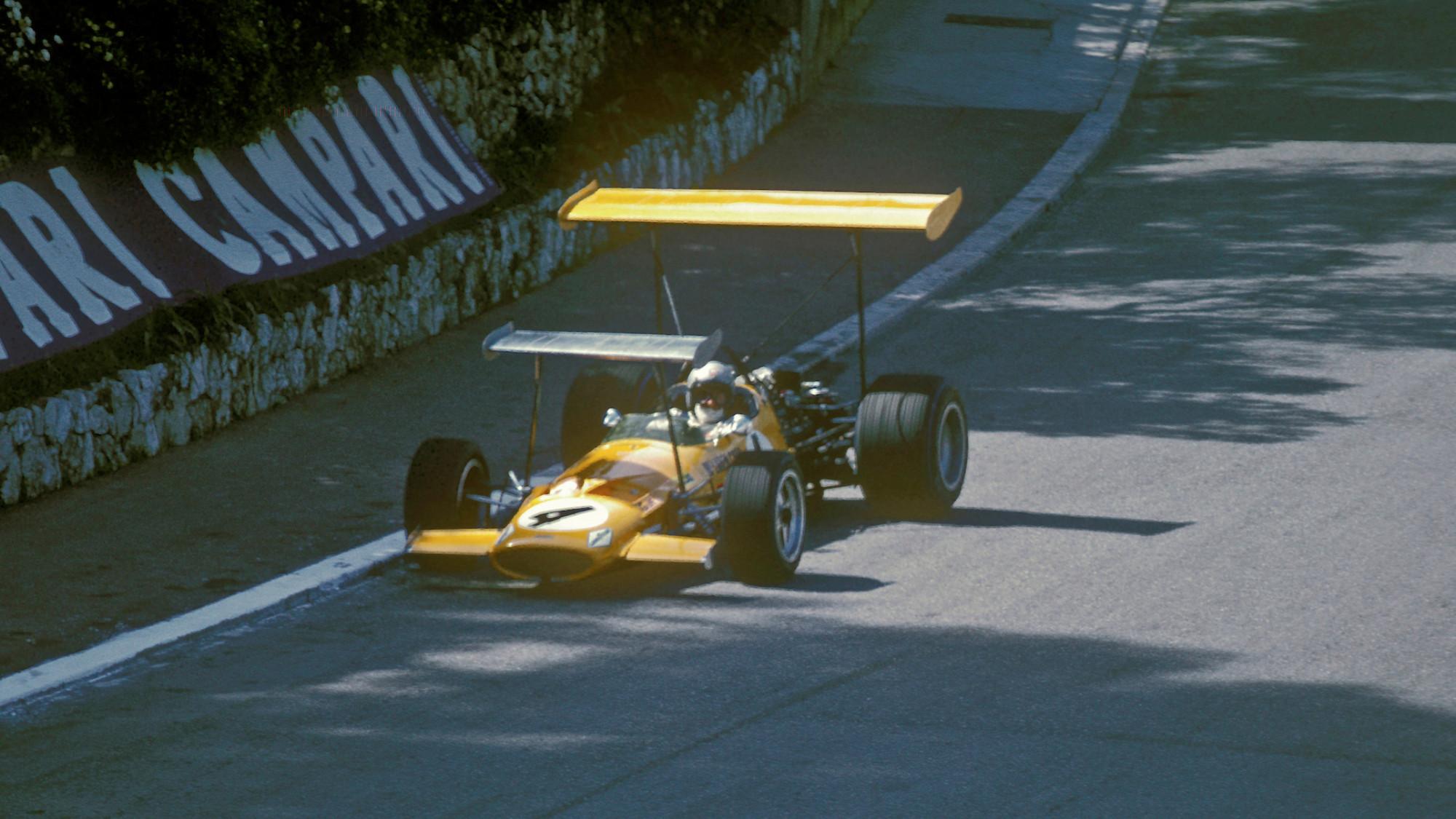 Bruce McLaren, 1969 Monaco GP