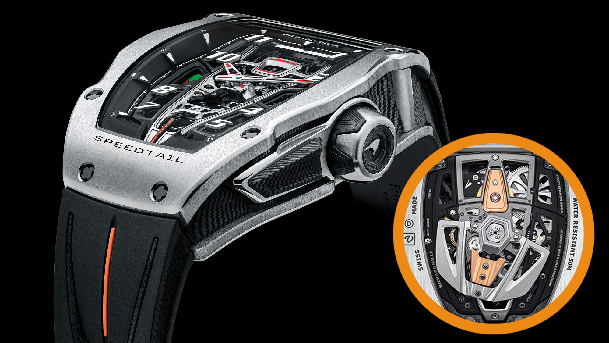 Richard Mille McLaren Speedtail