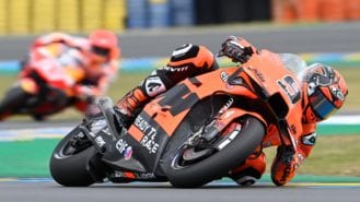 Why MotoGP riders use the rear brake 70% of every lap