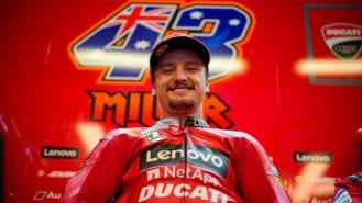 Ducati announces Jack Miller contract extension for 2022 MotoGP season