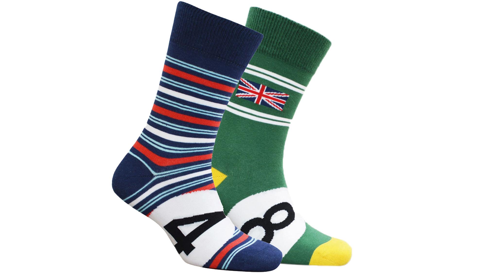 Motoring leg-end socks