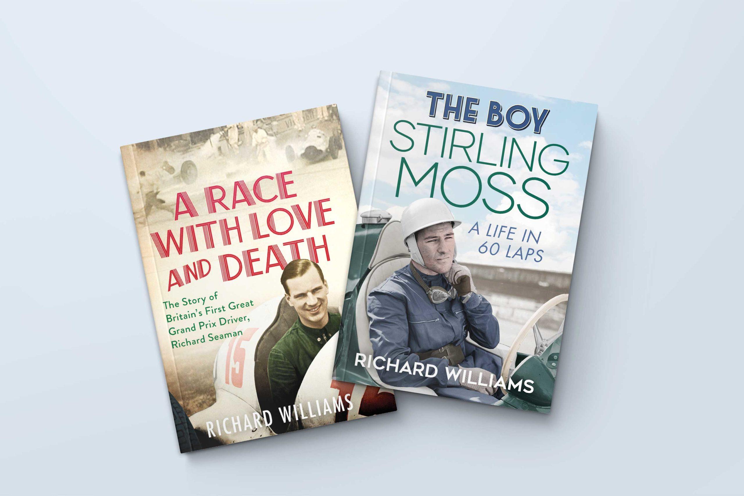 WIN a signed Richard Seaman & Stirling Moss book