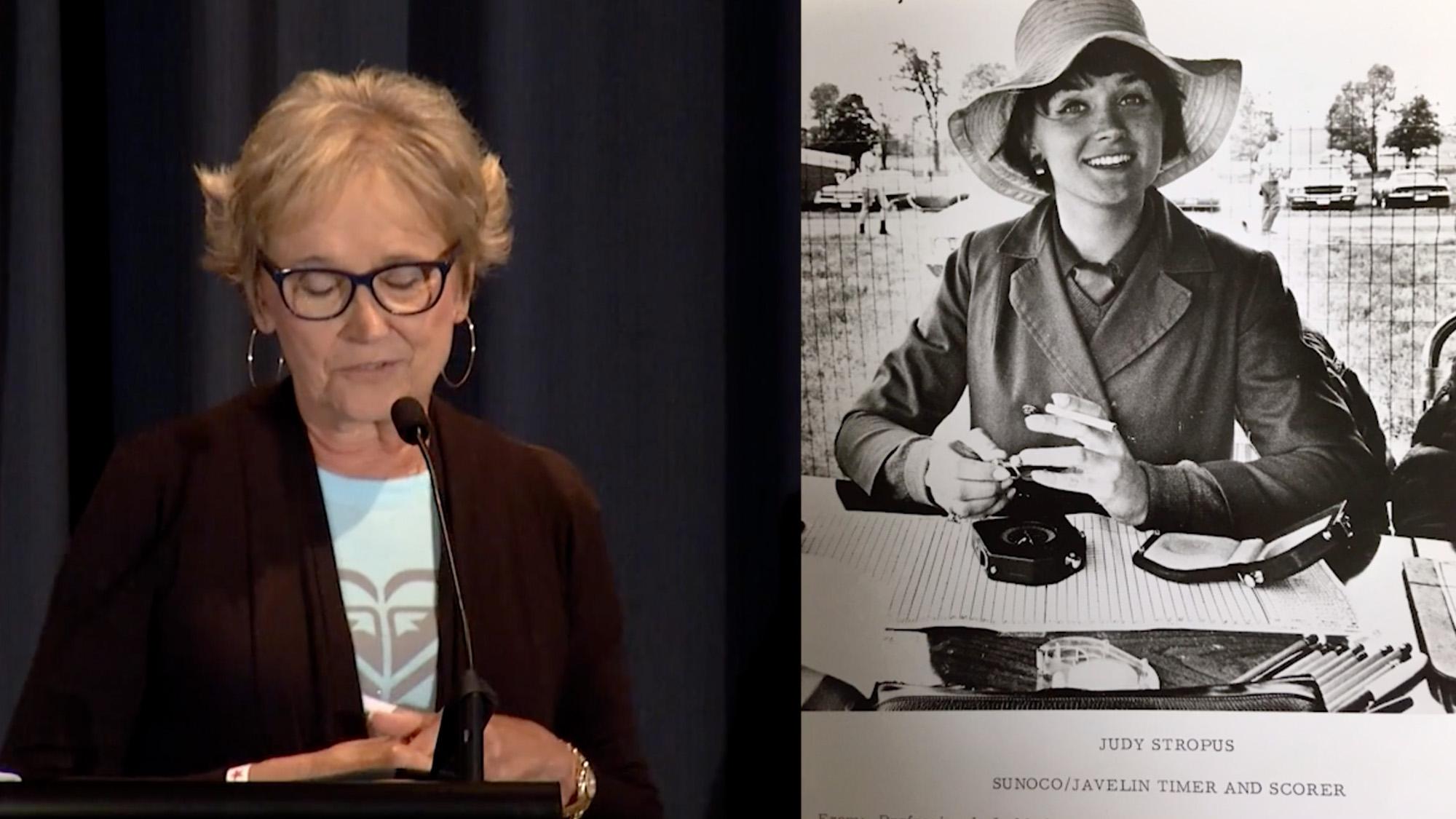 Judy Stropus video